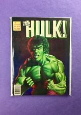 The Hulk Magazine #24 (1977):  Lou Ferrigno Cover by Joe Jusko!  VF+!
