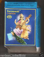 100 Tablets of Saraswati Camphor / Kapur Used in Diwali Havan Hindu Puja / Aarti