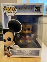 Funko POP! MICKEY MOUSE #261 Disney Kingdom Hearts  Vinyl Figure