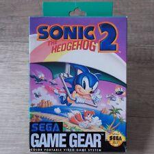 SEGA GAME GEAR ► Sonic the Hedgehog 2 ◄ completamente & IN SCATOLA ORIGINALE | | TOP RAR