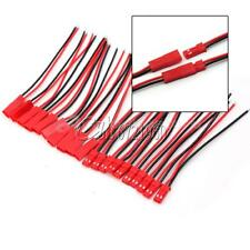 10PCS Battery Plug JST RC Model Socket Connector Cable Wire Male Female 5 Pairs