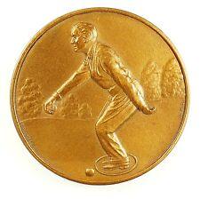 Sports PETANQUE Boules Bowling bronze 50mm
