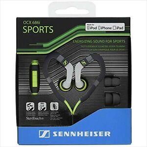 Sennheiser canal type sports earphone IPX4 waterproof ear hook type NEW