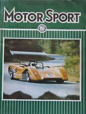 Motor Sport magazine October 1969 featuring BMW road test