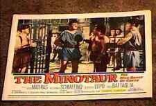 Minotaur 1961 Lobby Card #7 Sword & Sandal
