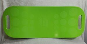 Simply Fit Board The Workout Balance Board Exercise Workout GREEN As Seen on TV