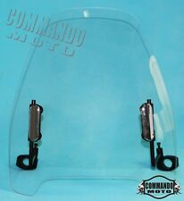 Universal Clear Motorcycle Windshield Wind Screen Anti Cold Shield For Kawasaki