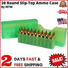 Mtm 20 Round Slip-Top Magnum Rifle Ammo Box 300 Rem. Ultra Mag. 300 Weatherby Ma