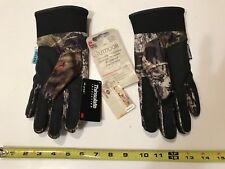 MOSSY OAK NEW THINSULATE INSULATION WATERPROOF HUNTING WINTER GLOVES CAMO SIZE M