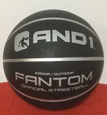 New! And1 Basketball - Black Fantom Basket Ball Indoor Outdoor Goal Street City