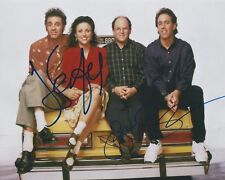 Jerry Seinfeld and Julia Louis Dreyfus Dual Signed Autographed 8x10 Photo Rare