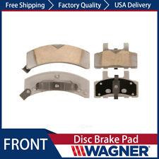 Front Wagner ThermoQuiet QC370 Ceramic Disc Pad Set
