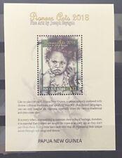 Papoea-Nieuw-Guinea / Papua New Guinea - MNH - Sheet Pioneer Art 2018