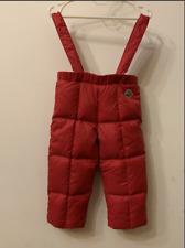Moncler kids/baby down snow ski pants size 12-18 months 80cm
