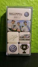 VW Magnete 6er-Set Motorsport Kollektion, Rallytheworld / selten!