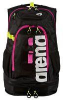 Arena Fastpack 2.1 Innovative Swimming Pool Bag Backpack Rucksack - Black/Pink