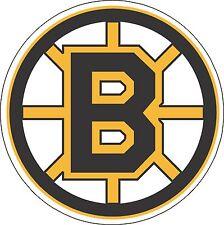 "Boston Bruins NHL Hockey sticker, wall decor, large vinyl decal, 9.5""x 9.5"""