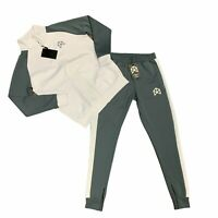 BM Fit Bradley Martyn Sweatsuit Men Size S Pants Jacket Matching Set Gym Workout