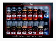 Modelo cifra Sistema De La Pintura De Cuero Y Metal val72291 Juego Color Set