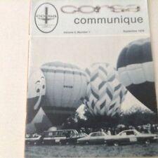 Corsa Communique Magazine Copper Cooled Engine September 1979 060417nonrh