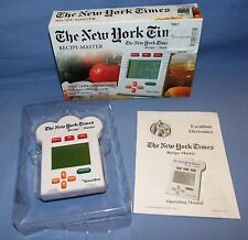 The New York Times Recipe Master by Excalibur Electronics-More than 1000 Recipes