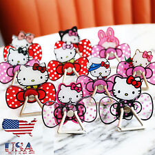 Hello Kitty, Little Twin Stars, Melody Finger Grip Ring Stand/Holder/Car mount