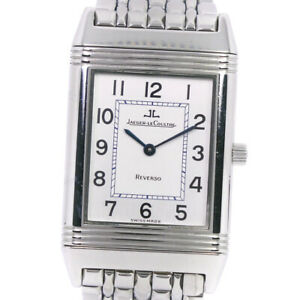 JAEGER-LECOULTRE 250.8.86 Classic Reverso Watches Stainless Steel Hand Win...