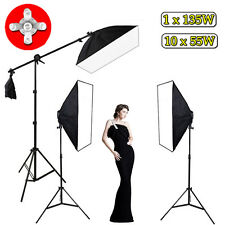 3425W Photography Photo Studio Continuous Lighting Softbox Light Stand Kit UK