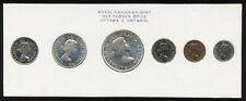 1960 Canada Uncirculated Silver Proof-Like PL Set - Blue Print - No Cello