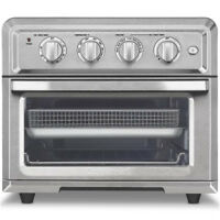 Cuisinart 1800W 0.6 Cu.Ft. Air Fryer Toaster Oven w/ Thermostat, Stainless Steel