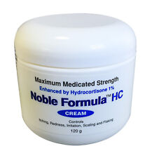 Noble Formula HC Cream Pyrithione Zinc .25% w/ Hydrocortisone 1% - Psoriasis