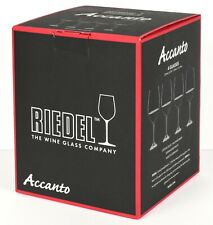 """*NEW* Riedel """"Accanto"""" Red Wine Glass - Set of 4 - Made in Germany *NIB*"""