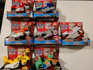 Paw Patrol Moto Pups Deluxe Vehicle lot including Wild Cat - New