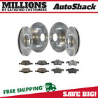 Front & Rear Disc Brake Rotors & Semi Metallic Pads Kit for 2005-2012 Mazda 3 <br/> Fast Free Shipping - High Quality - Direct Fit