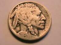 1915-D Buffalo Nickel Good Clear Date Original Grey Indian Head 5 Cent USA Coin