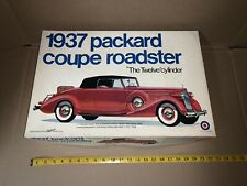Rare Vintage Entex 1937 Packard Coupe Roadster 1:16 Scale Model New