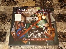 Emmylou Harris & Rodney Crowell Sealed Vinyl LP Record Album The Traveling Kind
