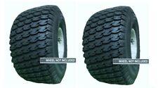 2 New Tires 18 8.50 8 OTR Lawn Boss TR532 Turf 4 Ply 18x8.50-8 18x8.50x8 SIL