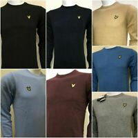 LYLE AND SCOTT LONG SLEEVE CREW-NECK JUMPER FOR MEN