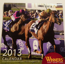 2013 Horse Racing Calendar Winners Wise Dan I'll Have Another Fort Larned