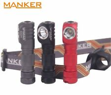 New Manker E02H (White) Cree XPG3 220LM LED Headlight Flashlight ( AAA ) - Red