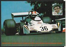 ROLF STOMMELEN WARSTEINER BRABHAM BT44 1976 TEAM RACE CARD POSTCARD PHOTOGRAPH