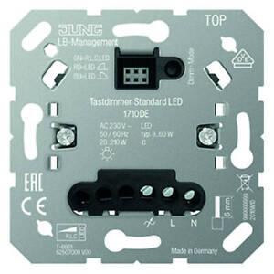 Jung LED Tastdimmer Dimmer 1710DE Sensordimmer 20 - 210 Watt Kundenretoure