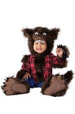 InCharacter Wee Werewolf Furry Flannel Animal Infant Baby Halloween Costume 6072