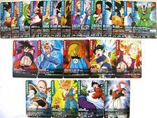 Cartes DBZ Dragon Ball Z Data Carddass Card Lot x 23 Part JCC Japon Bandai 2005