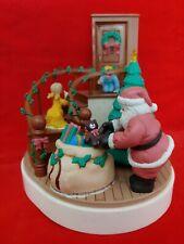 House of Lloyd 1989 Twas the Night Before Christmas Around the World Music Box