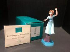 Disney Wdcc 4008944 Peter Pan Wendy: Peter! Oh, Peter! (2008) Mib