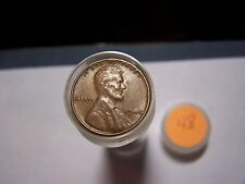 Roll Of 1948 Lincoln Wheats Circulated