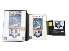 Mlbpa Baseball Sega Genesis Video Game Complete in Box Tested Mlb