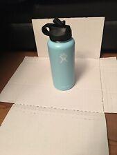 Wow* hydro flask 32 oz straw lid Aqua New